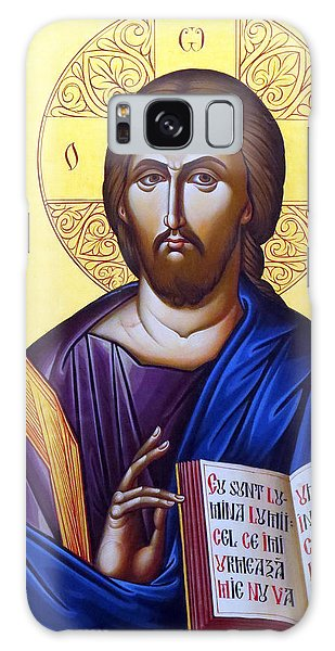 Icon Of Christ In Jericho Galaxy Case