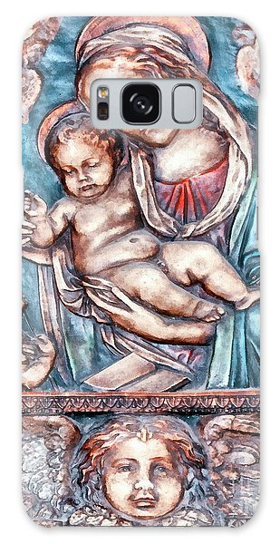 Icon Of Madonna Mother Of God  Galaxy Case by Odon Czintos
