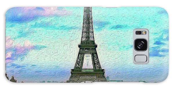 Icon Of Paris Galaxy Case