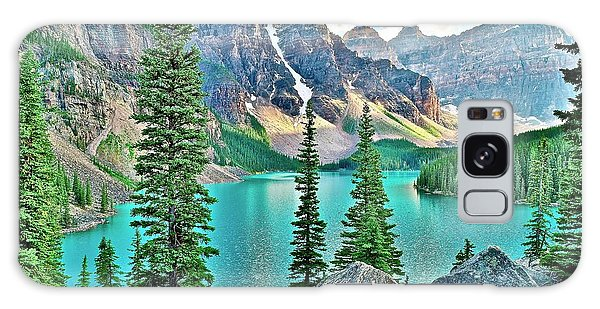 Moraine Lake Galaxy Case - Iconic Banff National Park Attraction by Frozen in Time Fine Art Photography