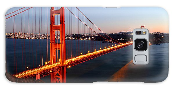 Iconic Golden Gate Bridge In San Francisco Galaxy Case