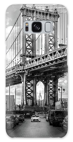 United States Galaxy Case - Iconic Manhattan Bw by Az Jackson