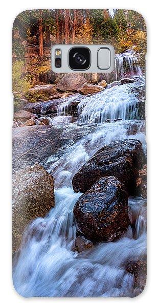 Icy Cascade Waterfalls Galaxy Case
