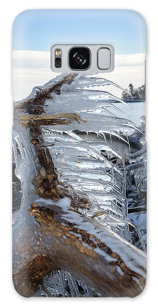 Icy Claw Galaxy Case by Jill Laudenslager