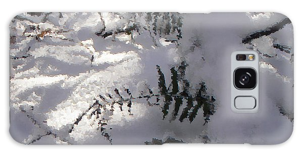 Icy Fern Galaxy Case