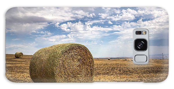 Idaho Hay Bale Galaxy Case