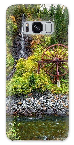 Idaho Springs Water Wheel Galaxy Case