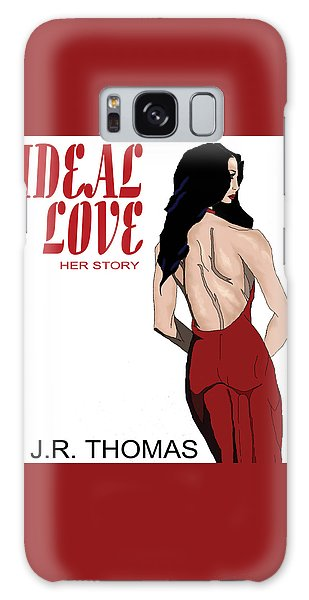 Galaxy Case featuring the digital art Ideal Love Book Cover by Jayvon Thomas