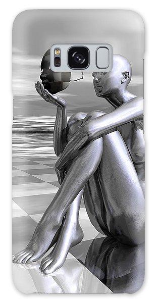 Galaxy Case featuring the digital art Identity by Sandra Bauser Digital Art