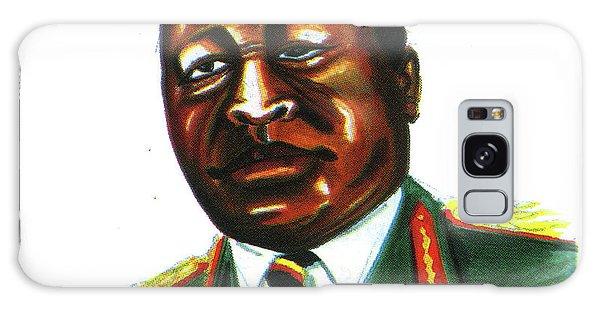 Idi Amin Dada Galaxy Case by Emmanuel Baliyanga