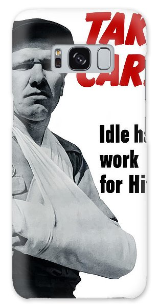 Ww2 Galaxy Case - Idle Hands Work For Hitler by War Is Hell Store