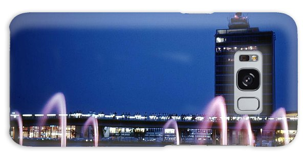 Galaxy Case featuring the photograph Idlewild Fountain And Tower by John Schneider
