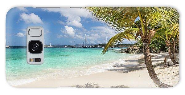 Galaxy Case featuring the photograph Idyllic Salomon Beach by Adam Romanowicz