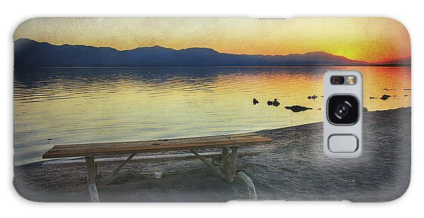 Picnic Table Galaxy Case - If Only I Knew Then by Laurie Search