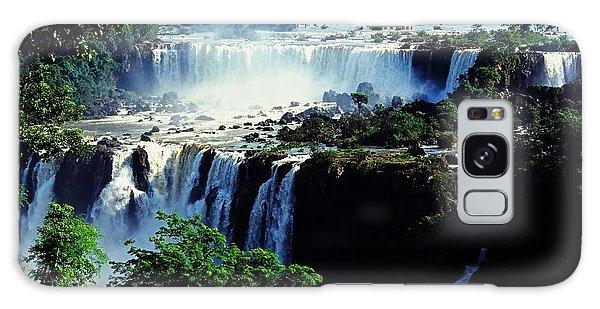 Iguacu Waterfalls Galaxy Case by Juergen Weiss