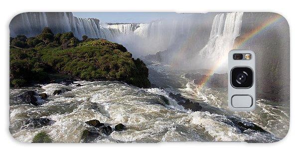Iguassu Falls With Rainbow Galaxy Case