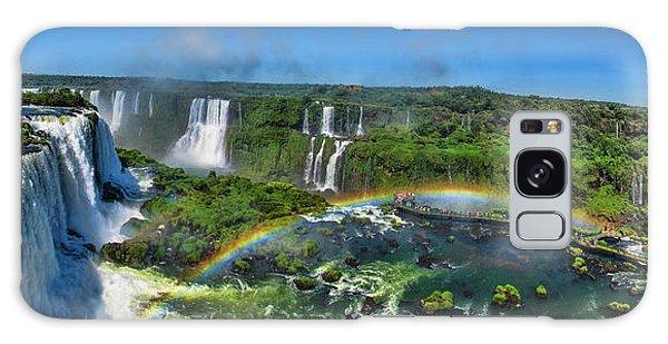 Iguazu Panorama Galaxy Case