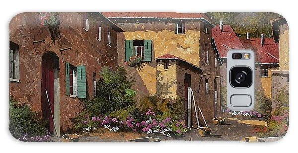 Rural Scenes Galaxy S8 Case - Il Carretto by Guido Borelli