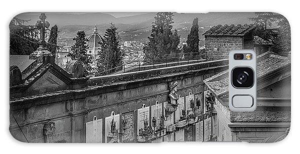 Il Cimitero E Il Duomo Galaxy Case by Sonny Marcyan