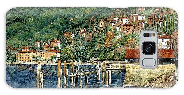 Dock Galaxy S8 Case - il porto di Bellano by Guido Borelli