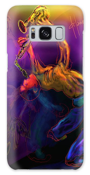 I'll Bend Over Backwards For Your Love Galaxy Case by DC Langer