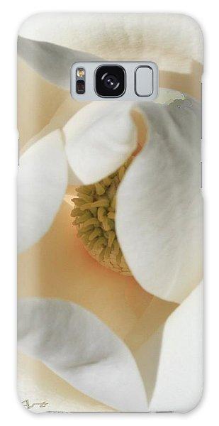 Illuminated Magnolia Macro Galaxy Case