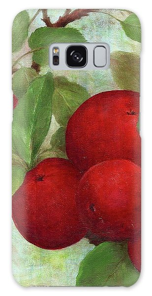 Illustrated Apples Galaxy Case