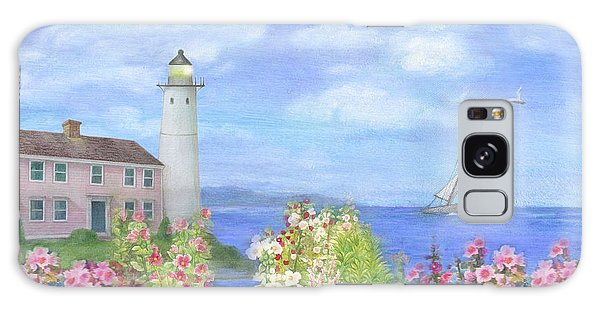 Illustrated Lighthouse By Summer Garden Galaxy Case