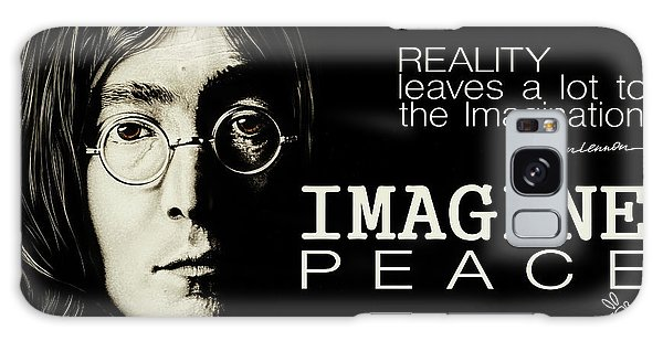 Imagine Peace- John Lennon Galaxy Case