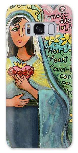 Immaculate Heart Of Mary Galaxy Case