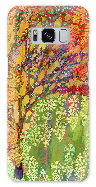 Abstract Landscape Galaxy Case - Immersed In Summer Part 2 Of 3 by Jennifer Lommers