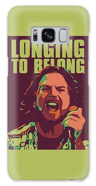 Pearl Jam Galaxy Case - Eddie Vedder by Greatom London