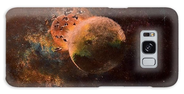 Impact Galaxy Case by Denise Tomasura