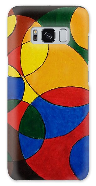 Imperfect Circles Galaxy Case