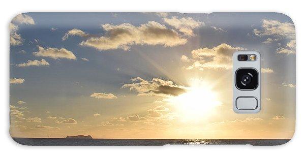 Imperial Beach Sunset Reflection Galaxy Case by Karen J Shine