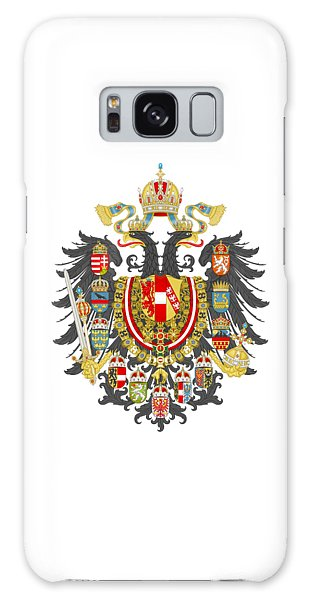Imperial Coat Of Arms Of The Empire Of Austria-hungary Transparent Galaxy Case