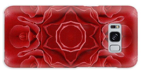 Imperial Red Rose Mandala Galaxy Case
