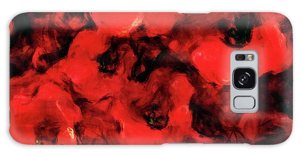 Impression Of Poppies Galaxy Case