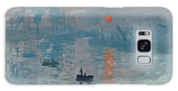 Boat Galaxy S8 Case - Impression Sunrise by Claude Monet