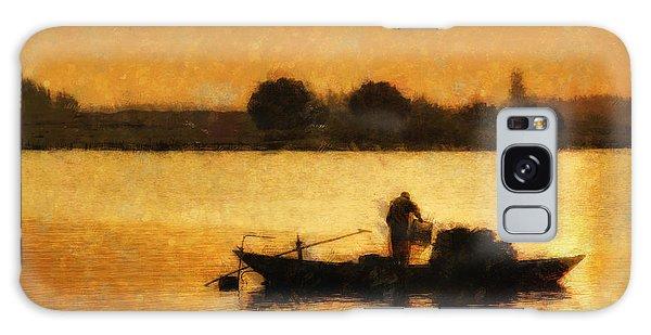 Impressionist Dawn Galaxy Case by Cameron Wood