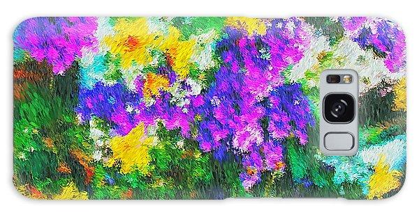 Impressionist Floral Galaxy Case