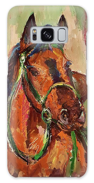 Impressionist Horse Galaxy Case