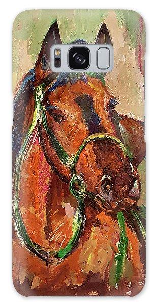 Impressionist Horse Galaxy Case by Janet Garcia