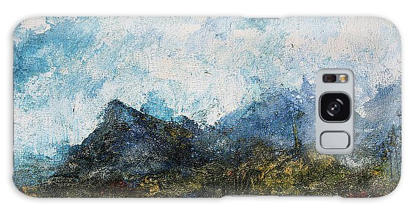 Impressionistic Landscape Galaxy Case