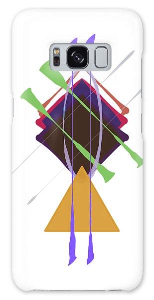 Improvised Geometry #3 Galaxy Case