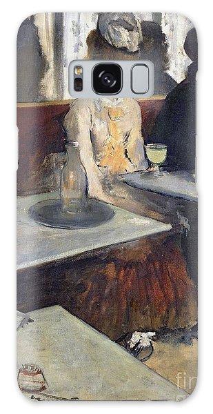 Restaurants Galaxy Case - In A Cafe by Edgar Degas
