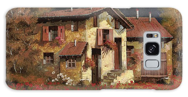 Rural Scenes Galaxy S8 Case - In Campagna La Sera by Guido Borelli