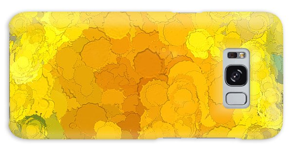 In Color Abstract 14 Galaxy Case by Cathy Anderson