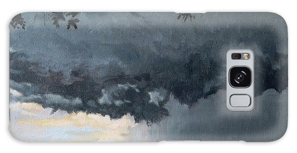 In Coming Storm-epping Forest On The Lake Galaxy Case