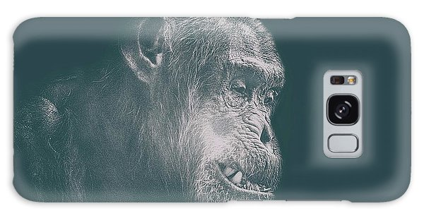 Orangutan Galaxy Case - In Deep Thought by Martin Newman